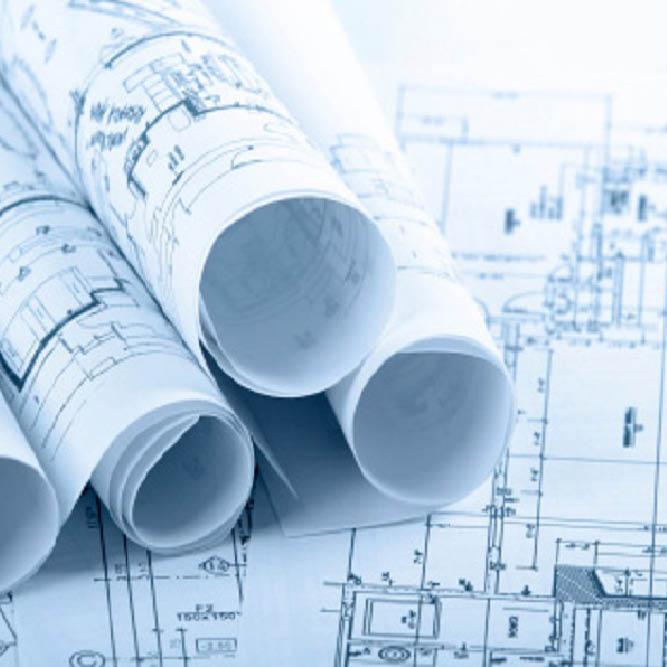Repro Voorne bouwtekeningen