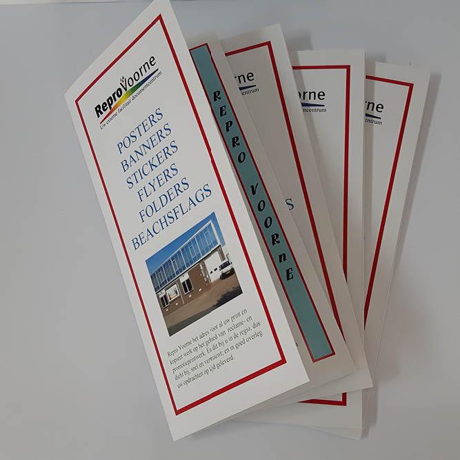 Repro Voorne folders