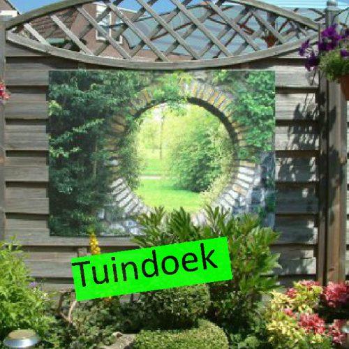 Repro Voorne tuinposter