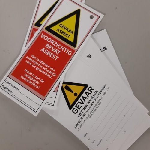 Repro Voorne - labels