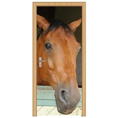 deursticker paard - DS1001