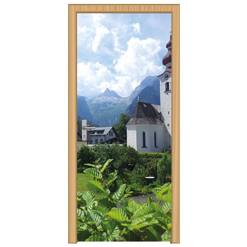 deursticker berglandschap 3 - DS3003