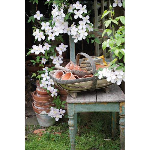 Repro Voorne tuinposter stoel
