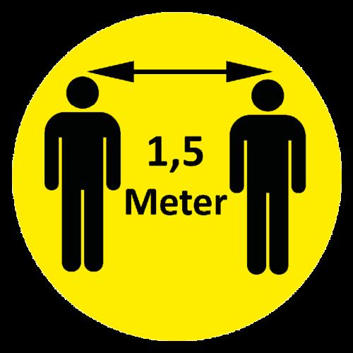 Repro Voorne 1,5 meter afstand