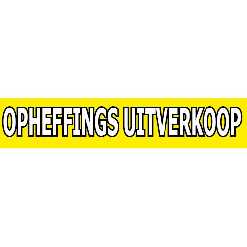 banner opheffings uitverkoop WPO002 geel