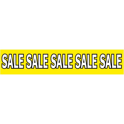 banner sale WP003 geel