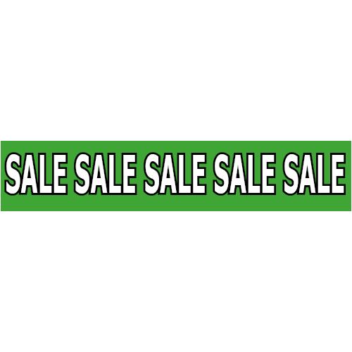 banner sale WP003 groen