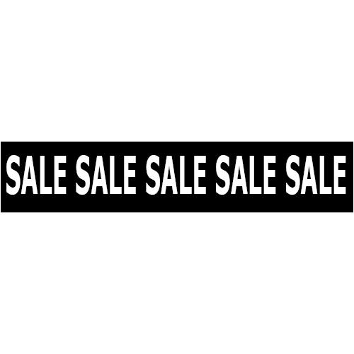 banner sale WP003 zwart