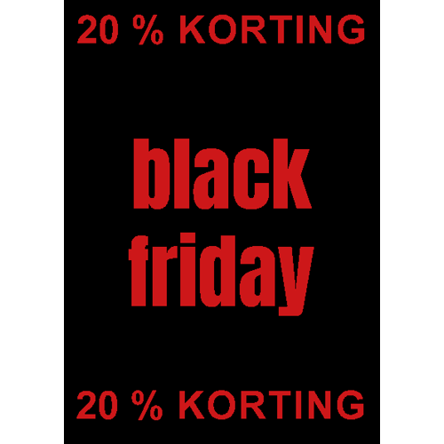 Black Friday BFD001 20%