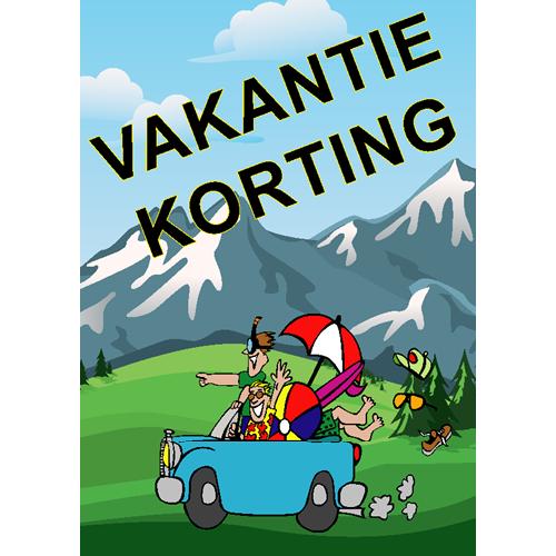 Vakantiekorting WPZ007 bergen
