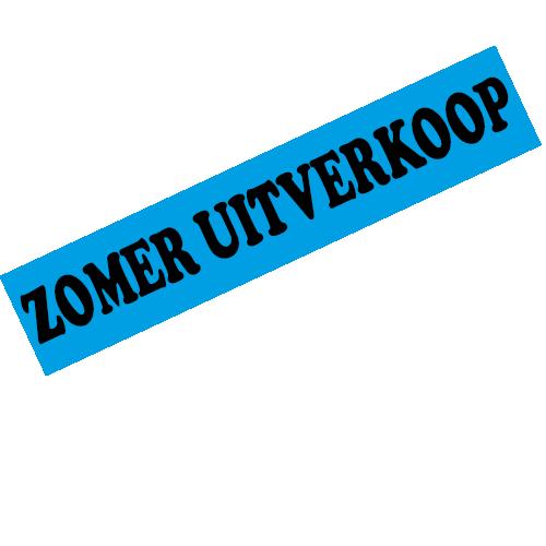 banner zomer uitverkoop WPZ004 blauw