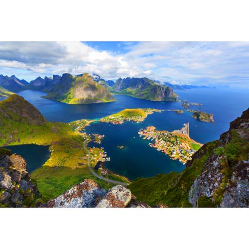 eiland Noorwegen TP3012 - 90x60