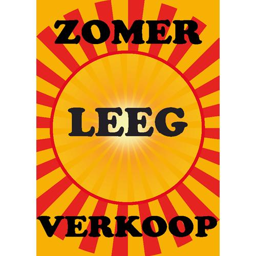 zomer leegverkoop WPZ002 geel-rood