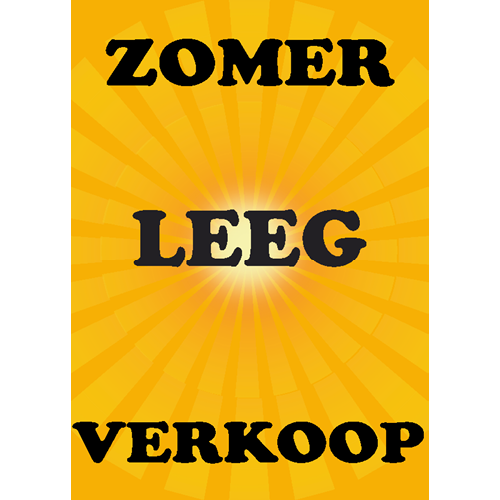 zomer leegverkoop WPZ002 geel